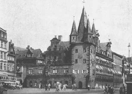 Frankfurt altstadt wiederaufbau