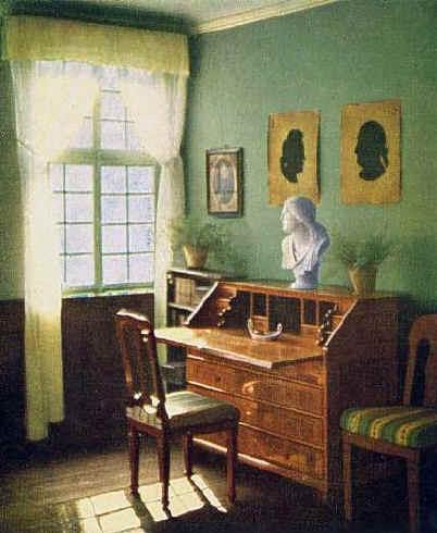 Goethe S Writing Desk Goethes Schreibtisch Frankfurt Am