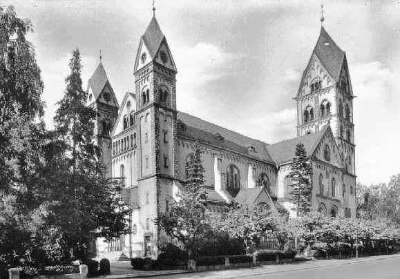 Josephskirche st joseph 39 s church frankfurt am main for Liebfrauenberg frankfurt