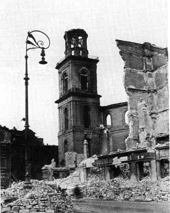 Ruins of the Paulskirche 1945